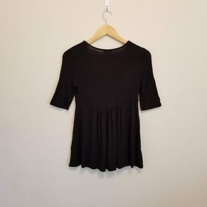 Anthropologie Tops - Anthropologie Deletta Empire Swing Pleated Tee XS